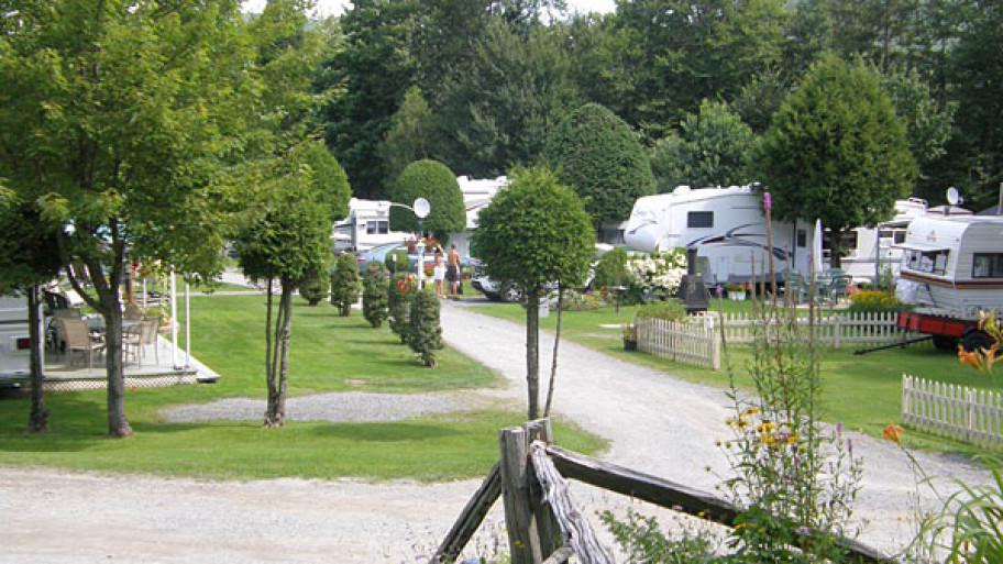 Camping Soleil - roulottes