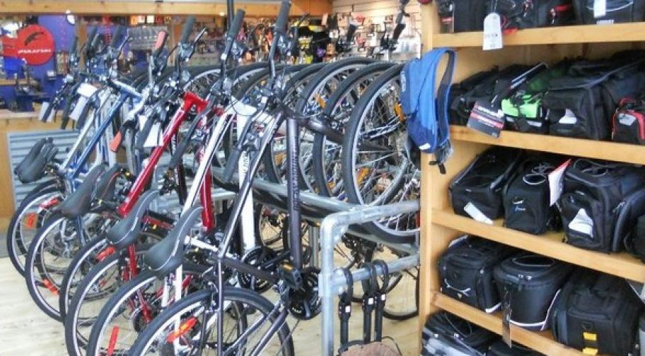 Cycles Vallières, downtown Thetford Mines
